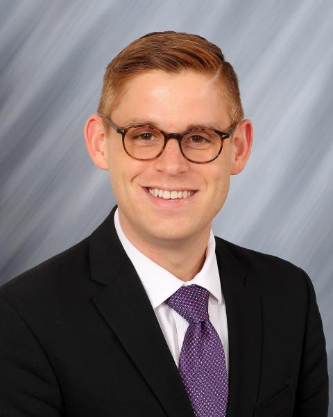 Headshot, Assistant to the President for Board & Governmental Relations Andrew Morse