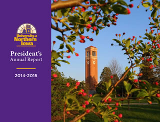 University of Northern Iowa, President's Annual Report, 2013-2014