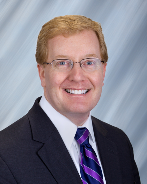 Headshot, Senior Vice President for Finance and Operations  Michael Hager